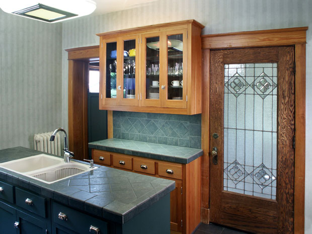 Kansas City Mo Historical Kitchen Cabinets Custom Heart Pine Cabinets Kitchen Restoration